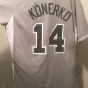 e7c9d1bb9 ... usa genuine merchandise shirts chicago white sox paul konerko 14 jersey  1b4a4 00d5c